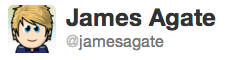 james agate twitter
