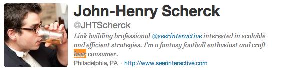 john henry scherck twitter