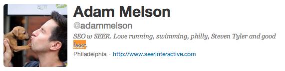 adam melson twitter